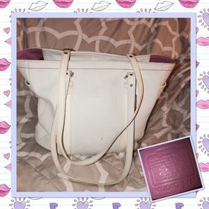 Coach 5787 White Gallery Large Tote